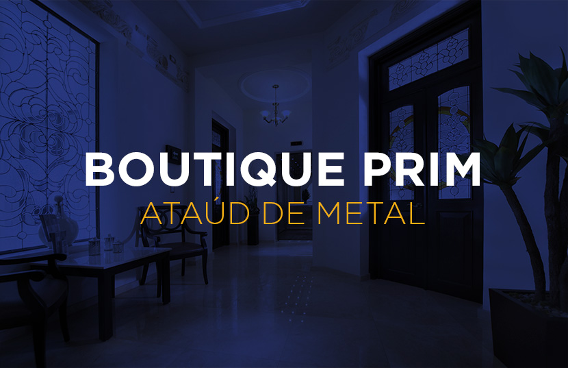 Boutique Prim - Ataúd de Metal