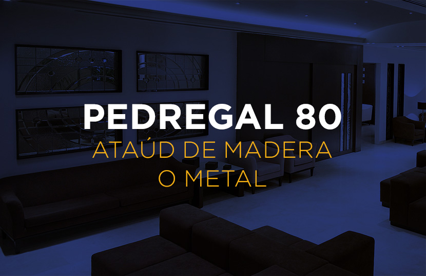Plan Pedregal 80 - Ataúd de Madera