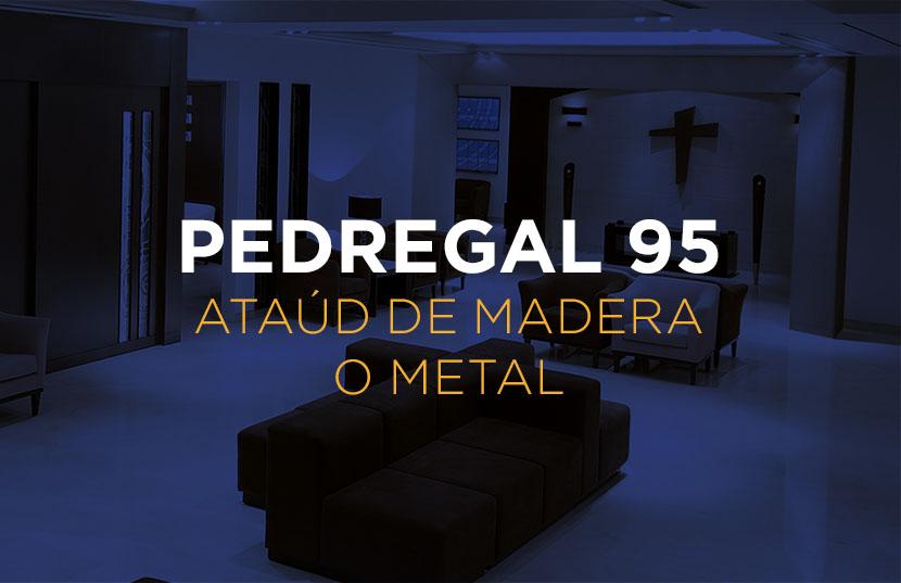 Plan Pedregal 95 - Ataúd de Madera o Metal